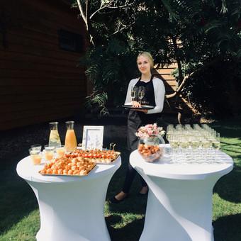 Šventė Stilingai - vaišių/šampano staliukas + aptarnavimas / Gabrielė Venckūnaitė / Darbų pavyzdys ID 558663