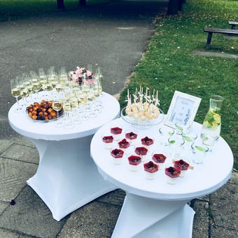 Šventė Stilingai - vaišių/šampano staliukas + aptarnavimas / Gabrielė Venckūnaitė / Darbų pavyzdys ID 558669
