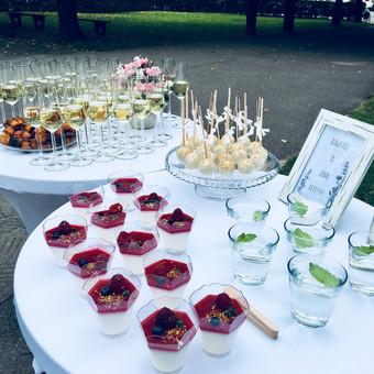 Šventė Stilingai - vaišių/šampano staliukas + aptarnavimas / Gabrielė Venckūnaitė / Darbų pavyzdys ID 558671