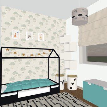 Interjero projektavimas, dizainas, dekoravimas / Dinicė, MB / Darbų pavyzdys ID 560051