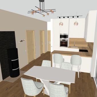 Interjero projektavimas, dizainas, dekoravimas / Dinicė, MB / Darbų pavyzdys ID 560057