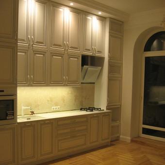 """Virtuvės baldai. Vonios baldai. Akmuo. UAB """"Forestė"""" / Dizainerė Audronė Baldai-Interjeras / Darbų pavyzdys ID 561309"""
