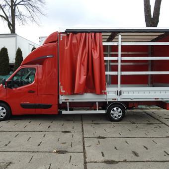 Kasdien krovinių pervežimas visoje Lietuvoje ir Europoje. / UAB Marbusas / Darbų pavyzdys ID 561673