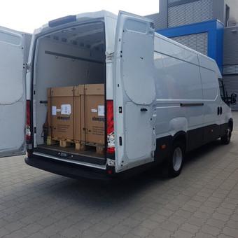Kasdien krovinių pervežimas visoje Lietuvoje ir Europoje. / UAB Marbusas / Darbų pavyzdys ID 561675