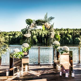 Vestuvių planavimas, dekoravimas, floristika -Renginių Namai / Vaida Radzevičiūtė / Darbų pavyzdys ID 562299