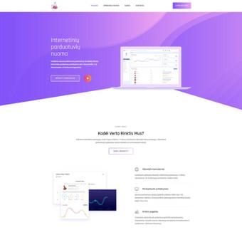 #1 Interneto svetainių, bei parduotuvių kūrimas,  SEO / Jonas Urbonas / Darbų pavyzdys ID 562791