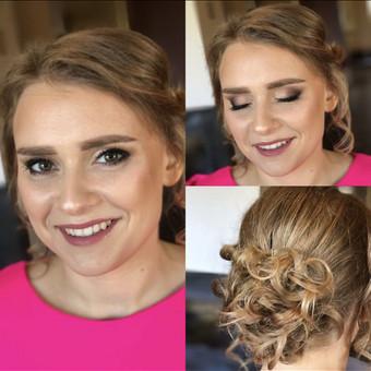 Makeup-hair Karina Mickuvienė Vilnius / Karina Mickuviene / Darbų pavyzdys ID 563461