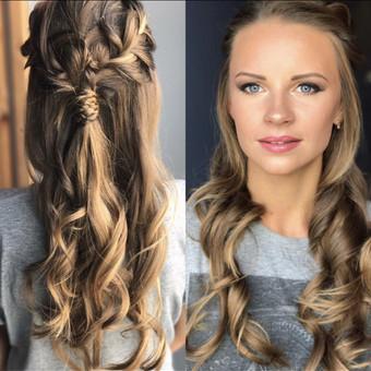 Makeup-hair Karina Mickuvienė Vilnius / Karina Mickuviene / Darbų pavyzdys ID 563463