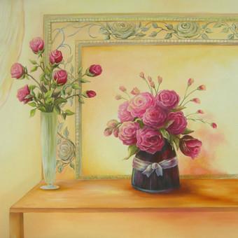 Romantiška elegancija 55x70_90 eur