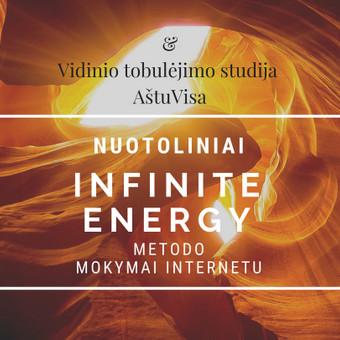 Nuotoliniai ,,Infinite energy'' metodo mokymai internetu. / Loreta / Darbų pavyzdys ID 564013