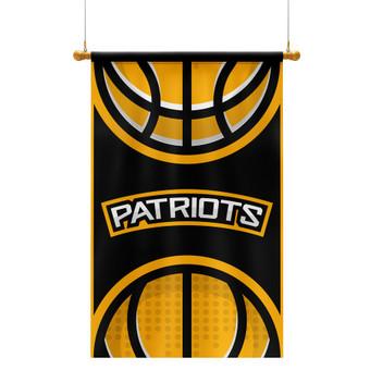 PATRIOTS  krepšinio komandos vėliava   www.glogo.eu - logo creation.