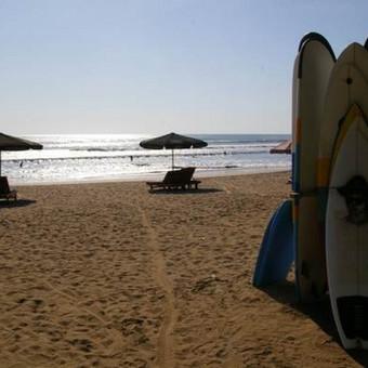 Kuta paplūdimys, Balio sala