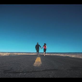 Tai kelionės video iš JAV, kurios atomazga- pasipiršimas.
