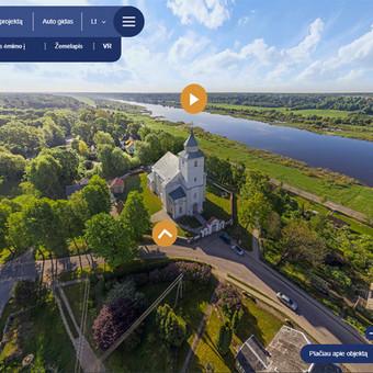 Panemunės regioninio parko virtualus turas visais keturiais metų laikais.