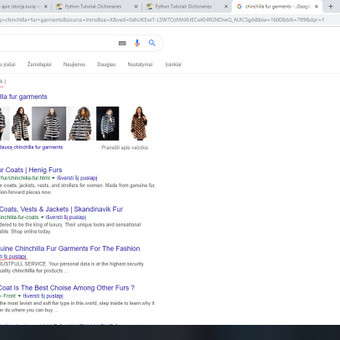 TOP3 chinchilla fur garments apie 13.800.000 (0,43 sek.) konversijai reikalingas raktinis žodis tarptautinėje rinkoje.