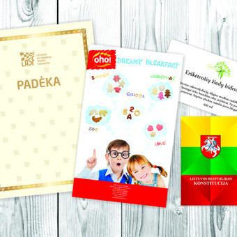 Spaudos, pakuočių maketavimas, reklamos kūrimas / Irma Kaunienė / Darbų pavyzdys ID 566921