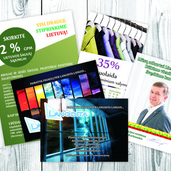 Spaudos, pakuočių maketavimas, reklamos kūrimas / Irma Kaunienė / Darbų pavyzdys ID 566943