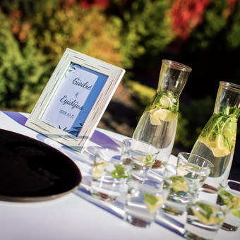 Šventė Stilingai - vaišių/šampano staliukas + aptarnavimas / Gabrielė Venckūnaitė / Darbų pavyzdys ID 567975