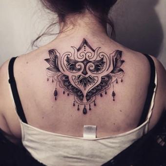 Tatuiruotės, tatuiruočių salonas / Vestina Jocaitytė / Darbų pavyzdys ID 78234