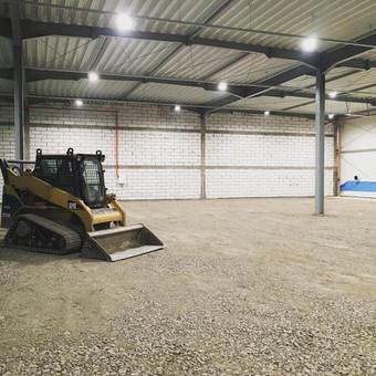 Pagrindu paruosimas grindu betonavimui