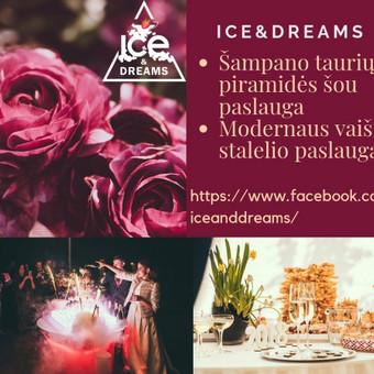 Šampano taurių piramidės ir sauso ledo efektų šou / Darius Klimavičius / Darbų pavyzdys ID 572329