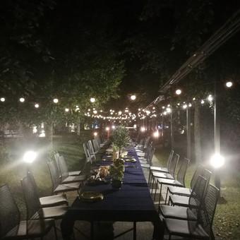Planavimas, lempučių, tekstilės nuoma, šampano staliukai / Smagilė / Darbų pavyzdys ID 572497