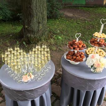 Planavimas, lempučių, tekstilės nuoma, šampano staliukai / Smagilė / Darbų pavyzdys ID 572517
