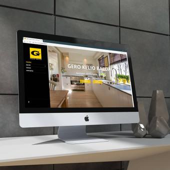 Sukurta nauja svetainė baldukelias.lt kuri užsiima nestandartinių baldų gamyba. Lengvas informacijos pateikimas ir atvaizdavimas buvo svarbiausias sprendimas.