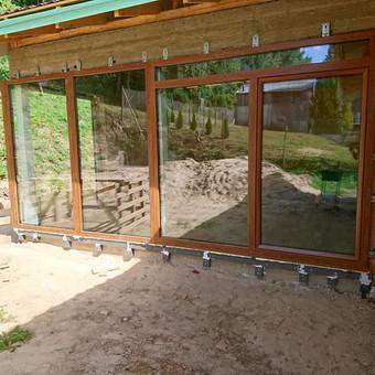 """Plastiko, Aliuminio, Medžio profilio langai,durys,pertvaros / UAB """"JUSTIGNA"""" / Darbų pavyzdys ID 573277"""