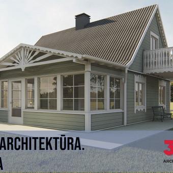 Architektūra, projektavimas / Achitektė Renata Laivytė / Darbų pavyzdys ID 573877