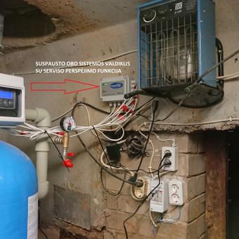 Suspausto oro valdiklis išspręndžia daugelio nugeležinimo filtrų filtravimo procesų kokybę ir galutiniame rezultate kokybiškas vanduo vartotojui ir stabilus filtrų darbas. Kas gali būti ger ...