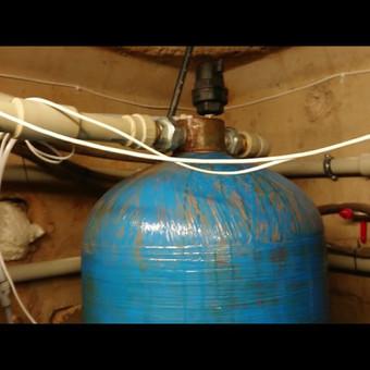 Nugeležinimo filtrai prikelti naujam gyvenimui ir įdiegtos papildomos technologijos stabilizuoti nugeležinimo filtrų darbą