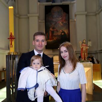 Krikštynų, vaikų gimtadieniai, šeimos fotosesijos.Vilnius / Foto Vaiko Krikštynos / Darbų pavyzdys ID 574255