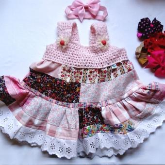 Vienetinė vasarinė suknytė - tunika mergaitei 2-3 metų, galima įsigyti.