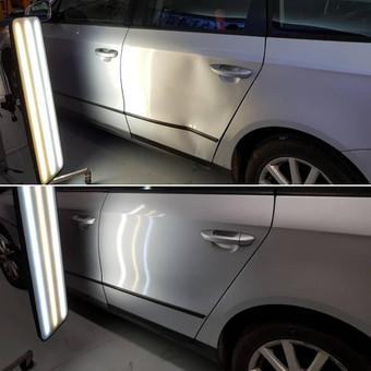 Automobilių kėbulo lyginimas be dažymo / PDR kursai, mokymai / Darbų pavyzdys ID 576631