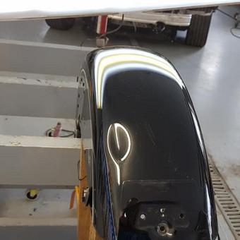 Automobilių kėbulo lyginimas be dažymo / PDR kursai, mokymai / Darbų pavyzdys ID 576645