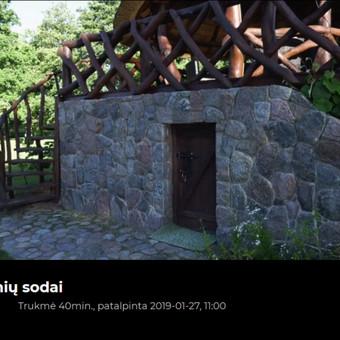 Akmens mūro darbai, Šlaitų ir pakrančių tvirtinimas,Gabion / Saulius / Darbų pavyzdys ID 577501