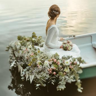 Vestuvinės suknelės individualus siuvimas / Agne Deveikyte / Darbų pavyzdys ID 579177