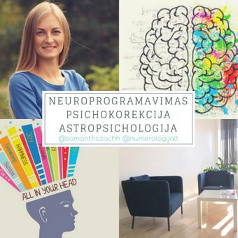 Psichoterapinis konsultavimas, neuroprogramavimas / Samantha Zachh / Darbų pavyzdys ID 580093