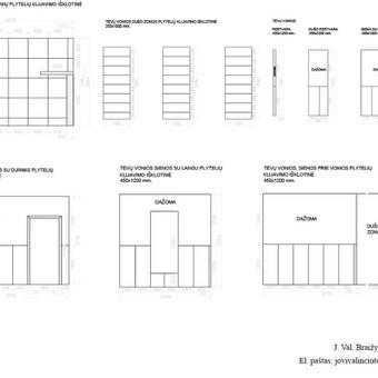 Brėžiniai Autocad programa / Jovita Valinčiūtė / Darbų pavyzdys ID 582513