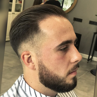 Vyriški kirpimai,barzdų modeliavimas,skutimas. / Loreta / Darbų pavyzdys ID 583005