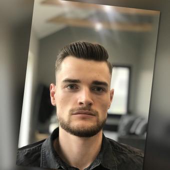 Vyriški kirpimai,barzdų modeliavimas,skutimas. / Loreta / Darbų pavyzdys ID 583011