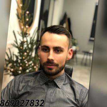 Vyriški kirpimai,barzdų modeliavimas,skutimas. / Loreta / Darbų pavyzdys ID 583015