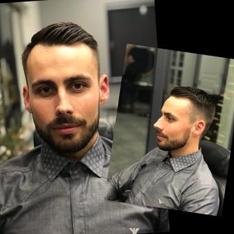 Vyriški kirpimai,barzdų modeliavimas,skutimas. / Loreta / Darbų pavyzdys ID 583017