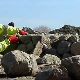 Akmens mūro darbai, Šlaitų ir pakrančių tvirtinimas,Gabion / Saulius / Darbų pavyzdys ID 583931