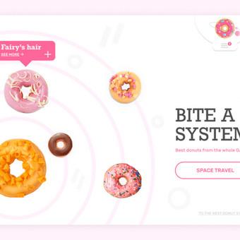 Donut System website