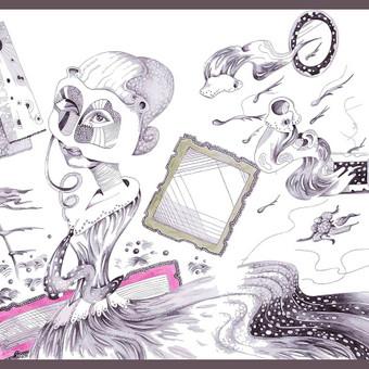 Dailininkas / Grafikos dizaineris / Laura / Darbų pavyzdys ID 584465