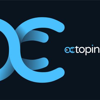 Octopin - smart way to insure       Logotipų kūrimas - www.glogo.eu - logo creation.