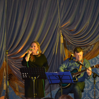 Gyva muzika, muzikantai su šypsena! / Urtė Dorotėja Paliukaitė / Darbų pavyzdys ID 585129