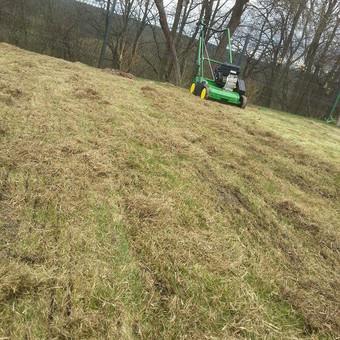 Aplinkos tvarkymas, apželdinimas, aeravimas, vejos įrengimas / Dainius Rėklaitis / Darbų pavyzdys ID 585297